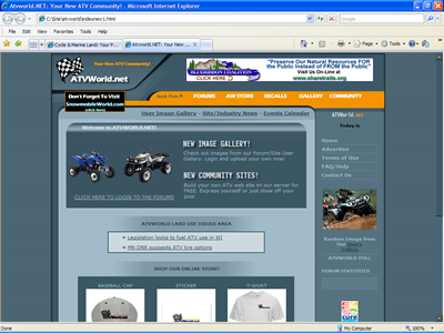 Web Design Sample 3